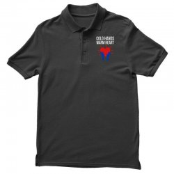 cold hands warm heart Polo Shirt | Artistshot