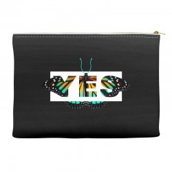 yes butterfly seek discomfort Accessory Pouches | Artistshot
