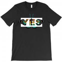 yes butterfly seek discomfort T-Shirt | Artistshot