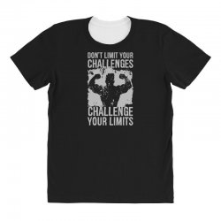 don't limit your challenges challenge your limits All Over Women's T-shirt | Artistshot