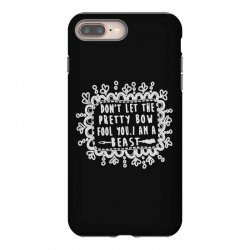 don't let the pretty bow fool you i am a beast iPhone 8 Plus Case   Artistshot