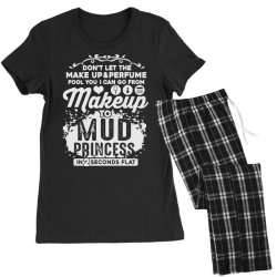 don't let the makeup and perfume fool you Women's Pajamas Set | Artistshot