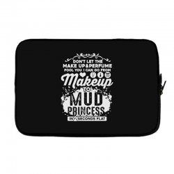 don't let the makeup and perfume fool you Laptop sleeve | Artistshot