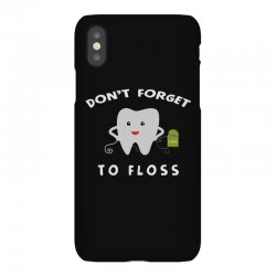 don't forget to floss iPhoneX Case   Artistshot