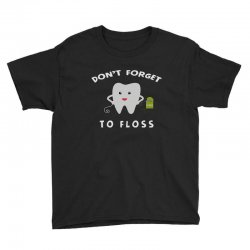 don't forget to floss Youth Tee   Artistshot