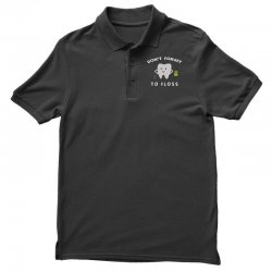 don't forget to floss Polo Shirt   Artistshot