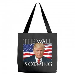 the wall is coming Tote Bags | Artistshot