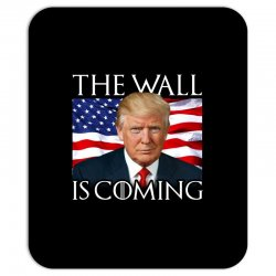 the wall is coming Mousepad | Artistshot