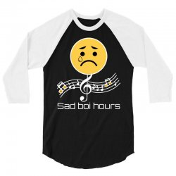 sad boi hours emoji 3/4 Sleeve Shirt | Artistshot