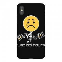 sad boi hours emoji iPhoneX Case | Artistshot