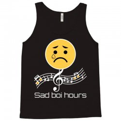 sad boi hours emoji Tank Top | Artistshot