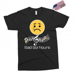 sad boi hours emoji Exclusive T-shirt | Artistshot