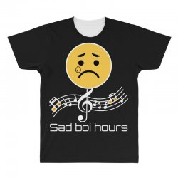 sad boi hours emoji All Over Men's T-shirt | Artistshot