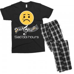 sad boi hours emoji Men's T-shirt Pajama Set | Artistshot