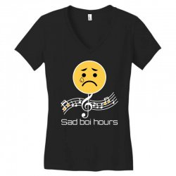 sad boi hours emoji Women's V-Neck T-Shirt | Artistshot