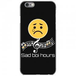 sad boi hours emoji iPhone 6/6s Case | Artistshot