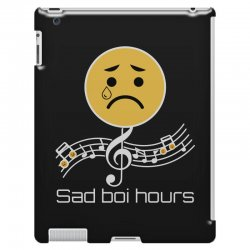 sad boi hours emoji iPad 3 and 4 Case | Artistshot