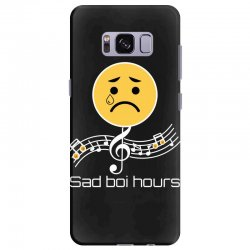sad boi hours emoji Samsung Galaxy S8 Plus Case | Artistshot