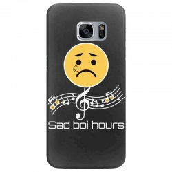 sad boi hours emoji Samsung Galaxy S7 Edge Case | Artistshot