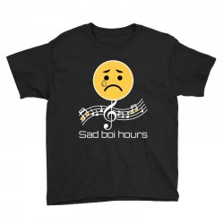 sad boi hours emoji Youth Tee | Artistshot