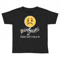 sad boi hours emoji Toddler T-shirt | Artistshot