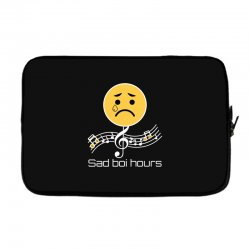 sad boi hours emoji Laptop sleeve | Artistshot