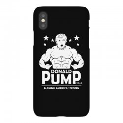 donald pump making america strong (donald trump) iPhoneX Case | Artistshot