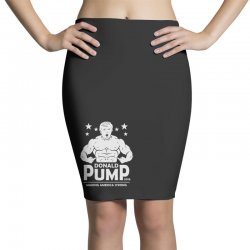 donald pump making america strong (donald trump)   copy Pencil Skirts | Artistshot