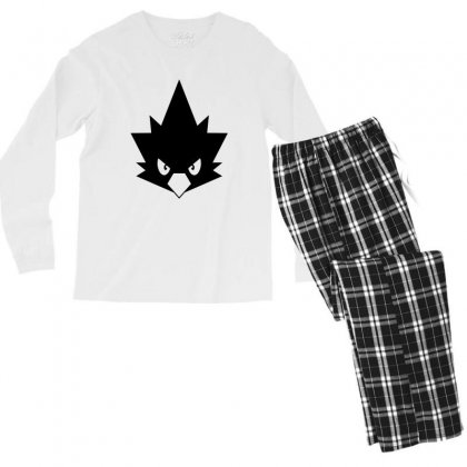 My Hero Academia Fumikage Tokoyami Men's Long Sleeve Pajama Set Designed By Toweroflandrose