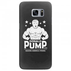 donald pump making america strong (donald trump)   copy Samsung Galaxy S7 Edge Case | Artistshot