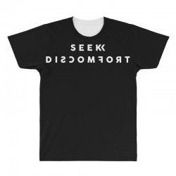 seek discomfort All Over Men's T-shirt | Artistshot