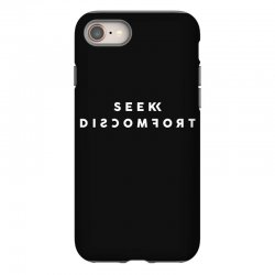 seek discomfort iPhone 8 Case | Artistshot