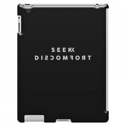 seek discomfort iPad 3 and 4 Case | Artistshot
