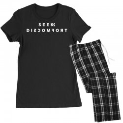 seek discomfort Women's Pajamas Set | Artistshot