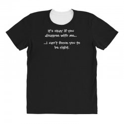 funny quote All Over Women's T-shirt | Artistshot