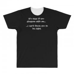 funny quote All Over Men's T-shirt | Artistshot