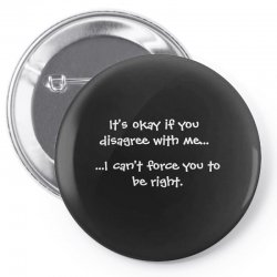 funny quote Pin-back button | Artistshot