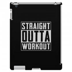 straight outta workout iPad 3 and 4 Case | Artistshot