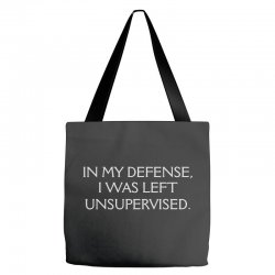 funny excuse quote Tote Bags | Artistshot