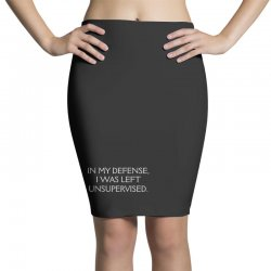 funny excuse quote Pencil Skirts | Artistshot