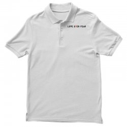 love over fear Polo Shirt | Artistshot
