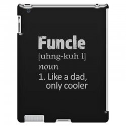 funcle definition funny uncle saying mens iPad 3 and 4 Case | Artistshot