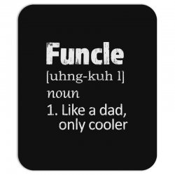 funcle definition funny uncle saying mens Mousepad | Artistshot