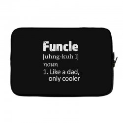 funcle definition funny uncle saying mens Laptop sleeve | Artistshot