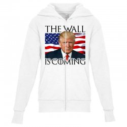 the wall is coming Youth Zipper Hoodie | Artistshot