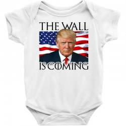 the wall is coming Baby Bodysuit | Artistshot