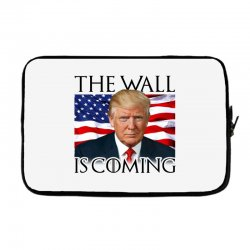 the wall is coming Laptop sleeve | Artistshot