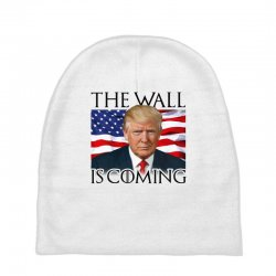 the wall is coming Baby Beanies | Artistshot