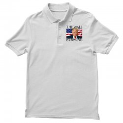 the wall is coming Polo Shirt | Artistshot