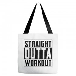 straight outta workout Tote Bags | Artistshot